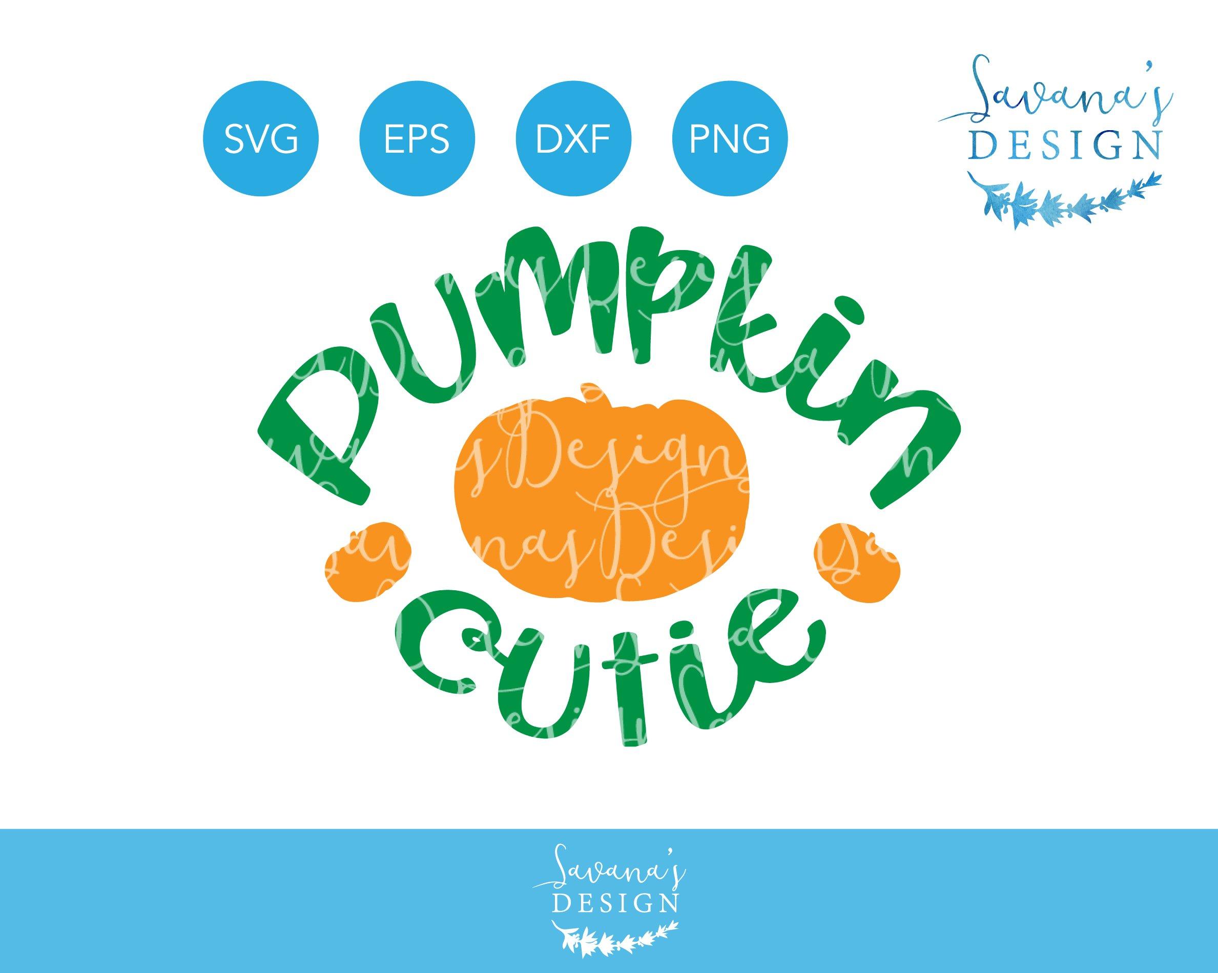Pumpkin Cutie Svg For Halloween Pre Designed Illustrator Graphics Creative Market
