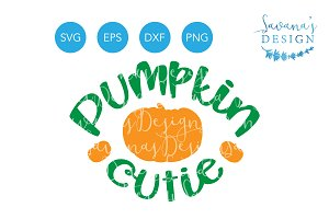Pumpkin Cutie SVG for Halloween