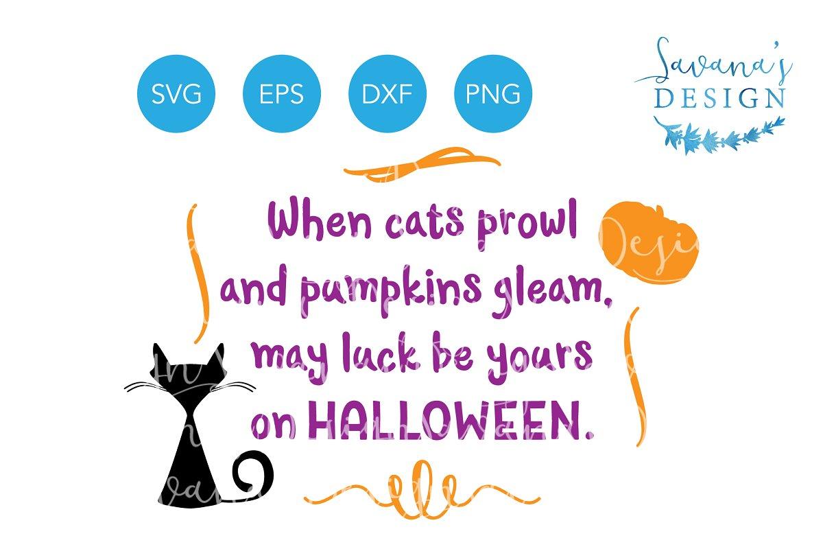 Halloween Quotes Svg.Halloween Quote Svg Halloween Poem
