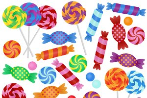 Candy Vectors and Clipart