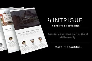 Intrigue Wordpress Theme