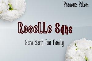 Roselle Font Family