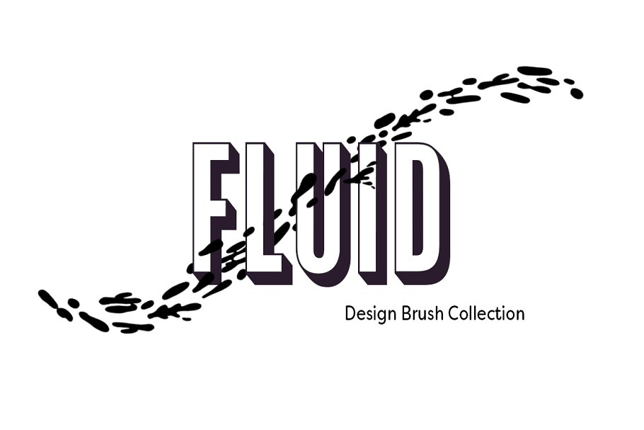 Fluid Design Photoshop Brushes