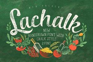 LaChalk Typeface