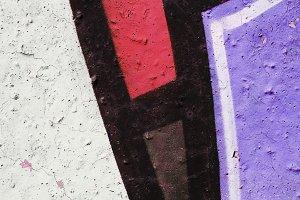 Graffiti Style Wall. Background