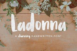 Ladonna Brush Font