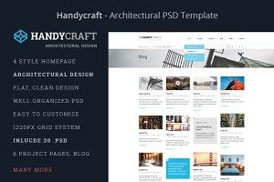 Handycraft Architecture PSD Template