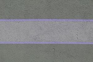 Lilac stripes paint concrete wall
