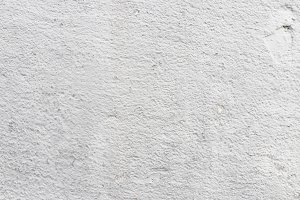 Textured concrete wall.