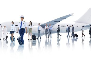 Travel Business People Cabin Crew