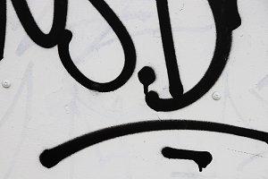 Urban Street Art. Graffiti tag.