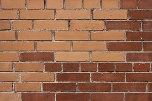 Different colors masonry bricks