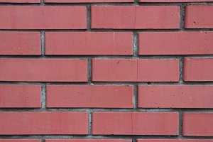 Red bricks wall building