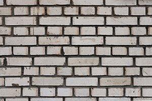 White bricks wall texture