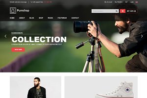 Pureshop–Fashion eCommerce Template