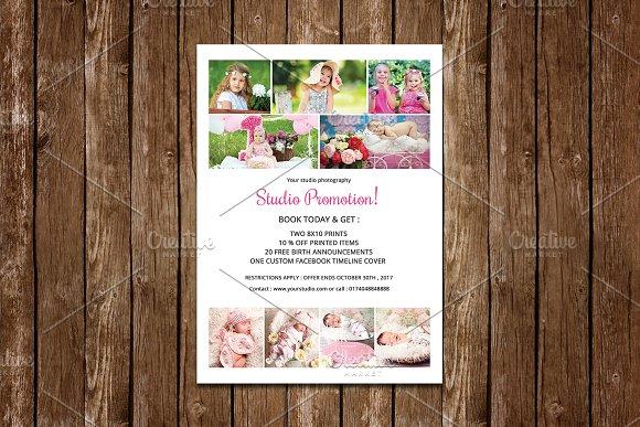 Studio Promotion Flyer V637
