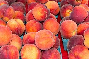 Fesh peaches