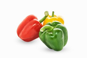 Bell pepper is group of many color.