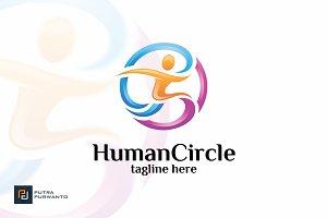 Human Circle - Logo Template