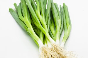 Green onions or scallions