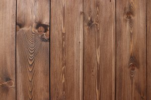 Wooden planks structure