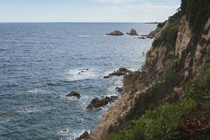 Seascape Costa brava (catalonia)