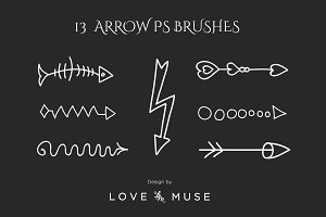 13 Arrow PS Brushes