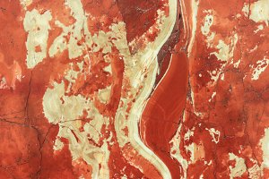 Red Marble Texture.
