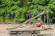 Playground in public park