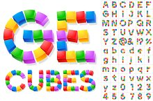 Alphabet of Children's Blocks