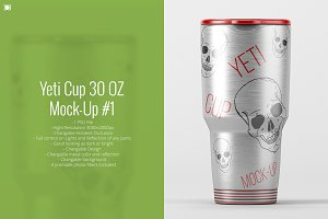 Yeti Cup Mock-Up