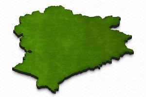 Map of Belarus