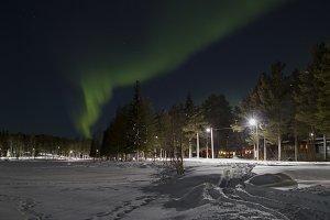 Northern Lights in Jokkmokk, Sweden