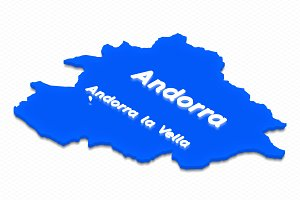Map of Andorra