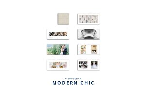 Modern Chic Wedding Album