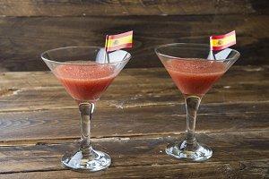 Coctel of gazpacho