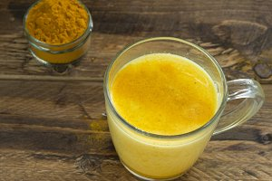 Golden milk (turmeric)