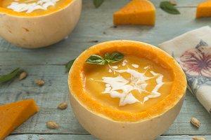 Soup pumpkin