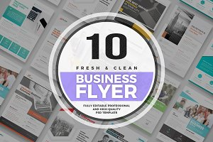 10 Business Flyer Template