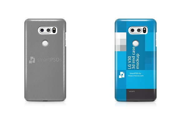Download LG V30 3d IMD Mobile Case Mockup