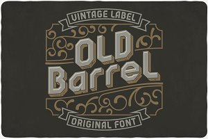 Old Barrel typeface