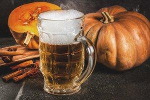 Spicy pumpkin Ale