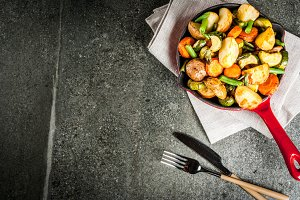 Roasted Fall and Winter Vegetables