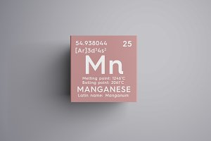 Manganese. Manganum.