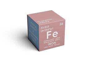 Iron. Ferrum.