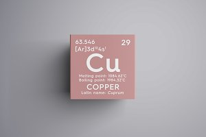 Copper. Cuprum.