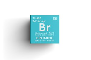 Bromine. Bromum.