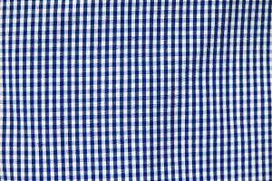 blue square fabric pattern