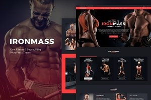Gym Fitness & Bodybuilding Theme