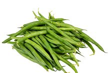 Green beans isolated